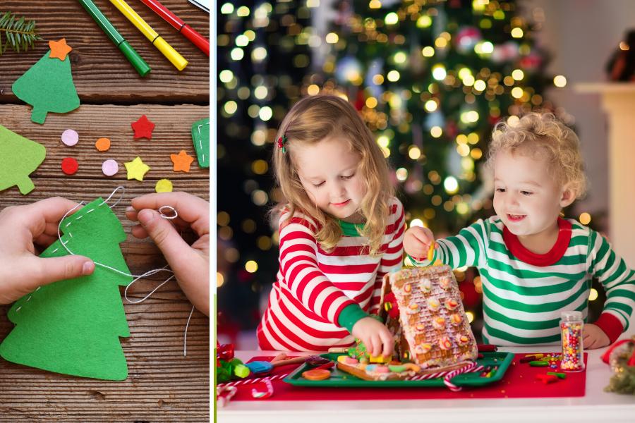 Weihnachtsdeko Basteln Mit Kindern Die Schönsten Ideen