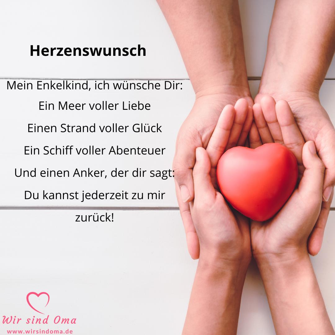 Enkelkind-Sprüche – Herzenswunsch