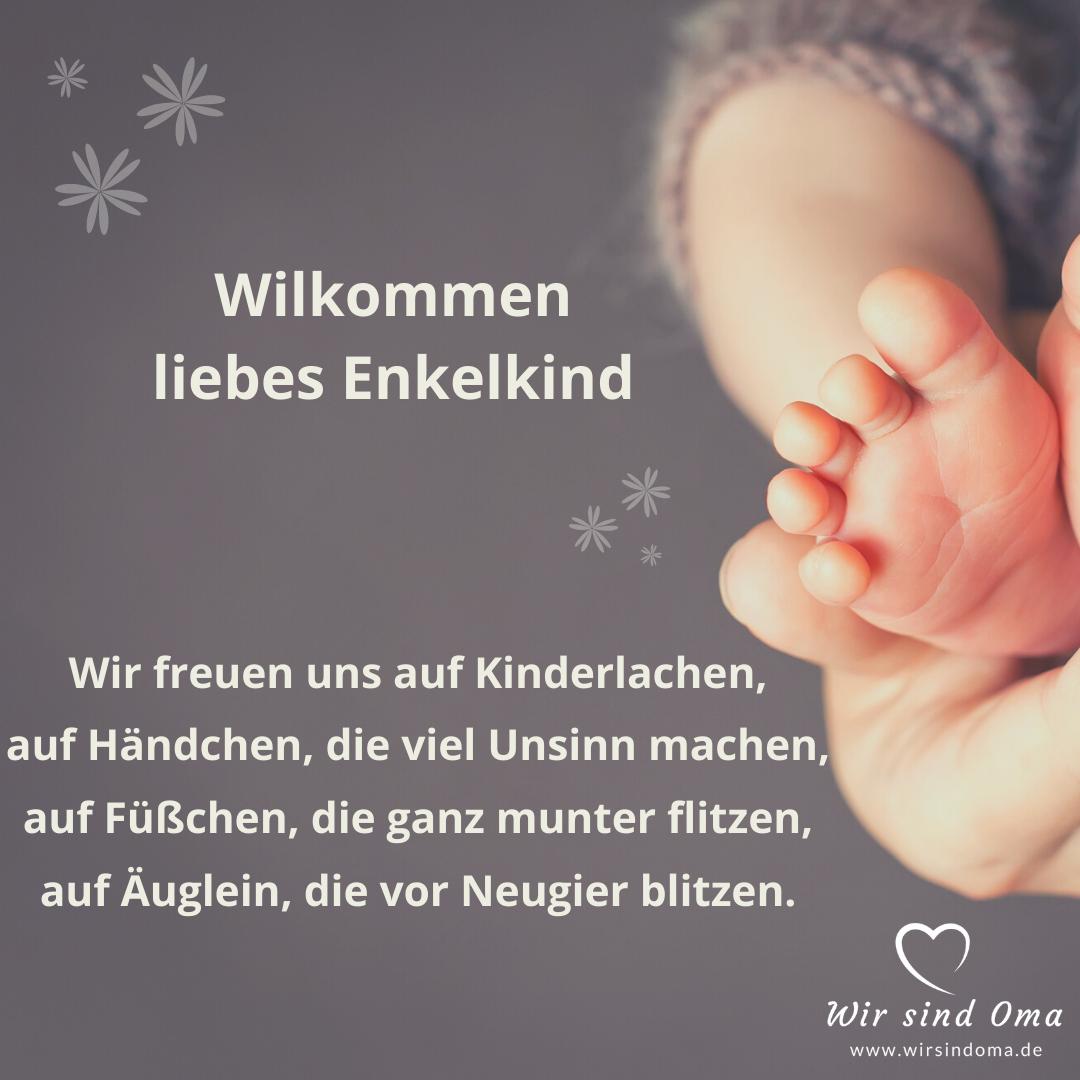 Enkelkind-Sprüche - Willkommen