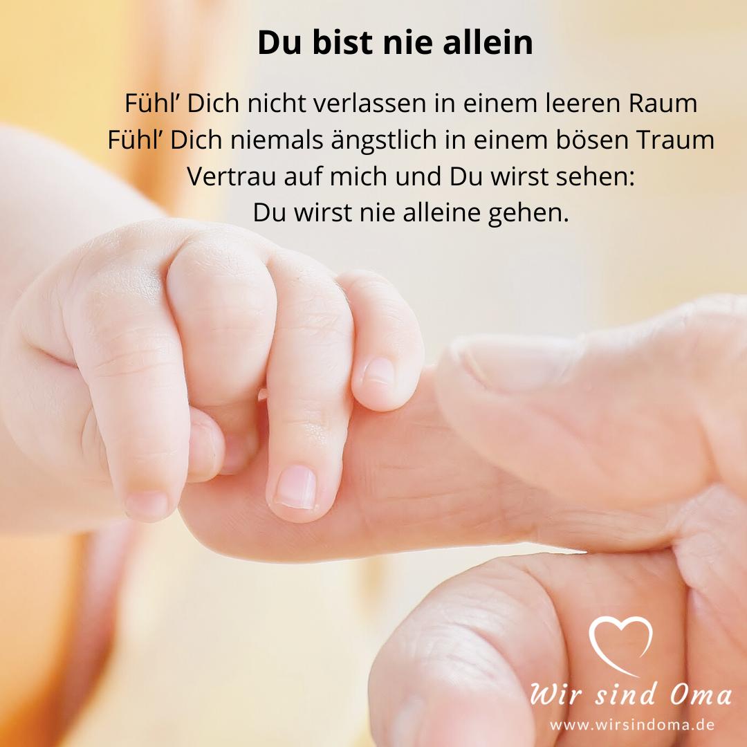 Enkelkind-Sprüche – nicht allein