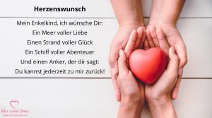 Sprüche für das Enkelkind – Herzenswunsch